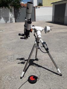 Configuración observación solar